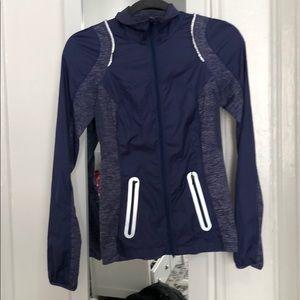 EUC Lululemon Running full zip jacket size 2